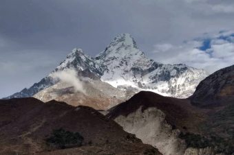 Island-peak and Ama-Dablam!